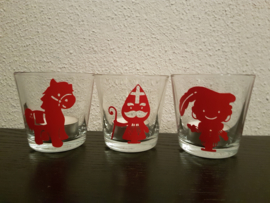 Sint kaarsen set van 3