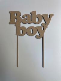 Taarttopper Baby boy