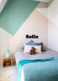 Naam sticker Sofie