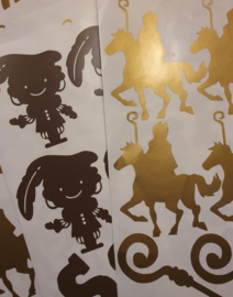 Sinterklaas stickertjes