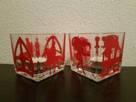 Sint kaarsen set van 2