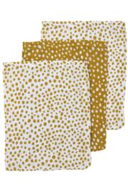 Meyco - 3 Pak washandjes Cheeta Honey