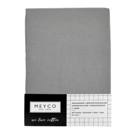 Meyco - Aankleedkussenhoes - Grijs