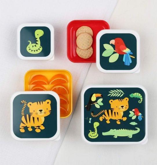ALLC - Lunchbox Set Tijger