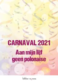 Carnaval 2021 - Polonaise - Etiket Wijn