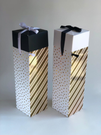 Flesdoos - Dots & Stripes - Stevig karton
