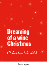 Dreaming of a wine Christmas - Kerstmis - Wijncadeau