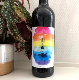Jij + Ik = Wij(n) - Etiket en/of Wijn