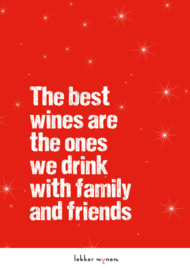 Best wines with family and friends - Kerstmis - Wijncadeau