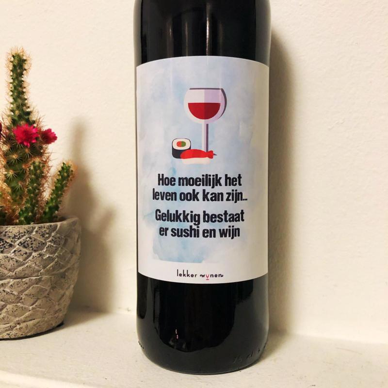 Sushi en Wijn - Etiket en/of Wijn