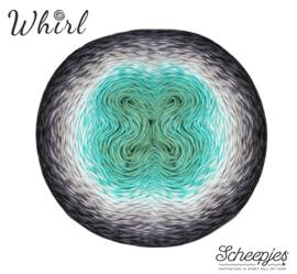 Scheepjes Whirl 1000m - 785 Minty Black Velvet