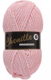 Lammy Yarns Chenille 6 - 712 - Licht roze