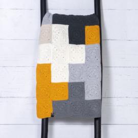 Pakket Durable Criss-Cross Blanket Grey