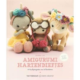 Boek: Amigurumi hartendiefjes - Erinna Lee