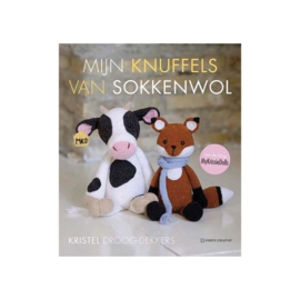 Boek: Mijn knuffels van sokkenwol - Kristel Droog-Dekkers