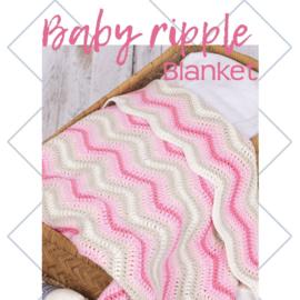 Pakket Baby Ripple Blanket Pink