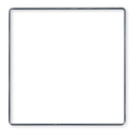 Metalen frame 15cm vierkant