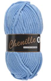 Lammy Yarns Chenille 6 - 040 licht blauw