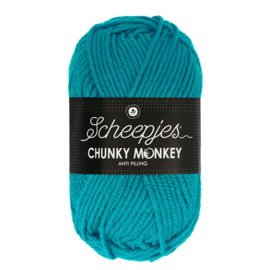Scheepjes Chunky Monkey - 2012 Deep Turquoise