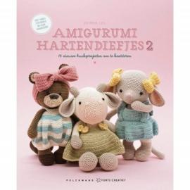 Boek: Amigurumi hartendiefjes 2 - Erinna Lee