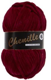 Lammy Yarns Chenille 6 - 042 - Bordeaux