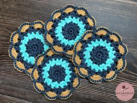 Haak Pakket 'Petal Coasters' Mijo Crochet
