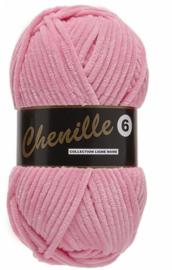 Lammy Yarns Chenille 6 - 714 licht roze