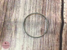 Metalen ring 8cm doorsnede