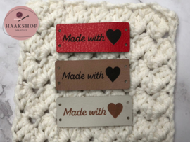Label Made With ♥