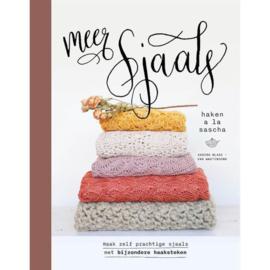 Boek: Meer Sjaals haken á la Sascha- Sascha Blase