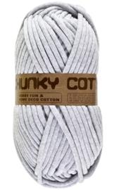 Lammy Yarns Chunky Cotton - 003 Licht Grijs