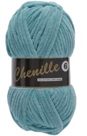 Lammy Yarns Chenille 6 - 457 turquoise