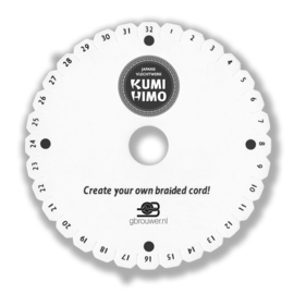 Kumihimo Disc Rond 32gat 15cm