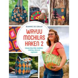 Boek:  Wayuu mochilas haken 2 - Rianne de Graaf