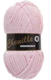 Lammy Yarns Chenille 6 - 710 - Zacht roze