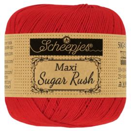 Scheepjes Maxi Sugar Rush -  722 Red