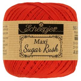 Scheepjes Maxi Sugar Rush - 390 Poppy Rose