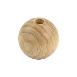 Houten kraal 6 mm
