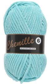 Lammy Yarns Chenille 6 - 047 - Fel Blauw
