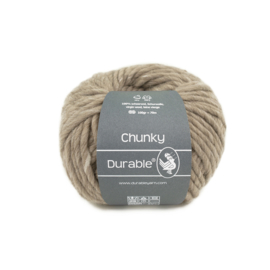 Durable Chunky Wool - 340 Taupe