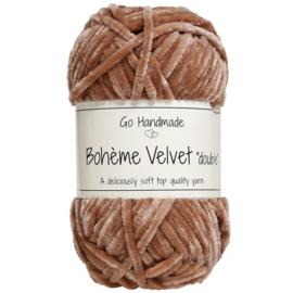 """GoHandMade Bohème Velvet """"double"""" Nougat"""