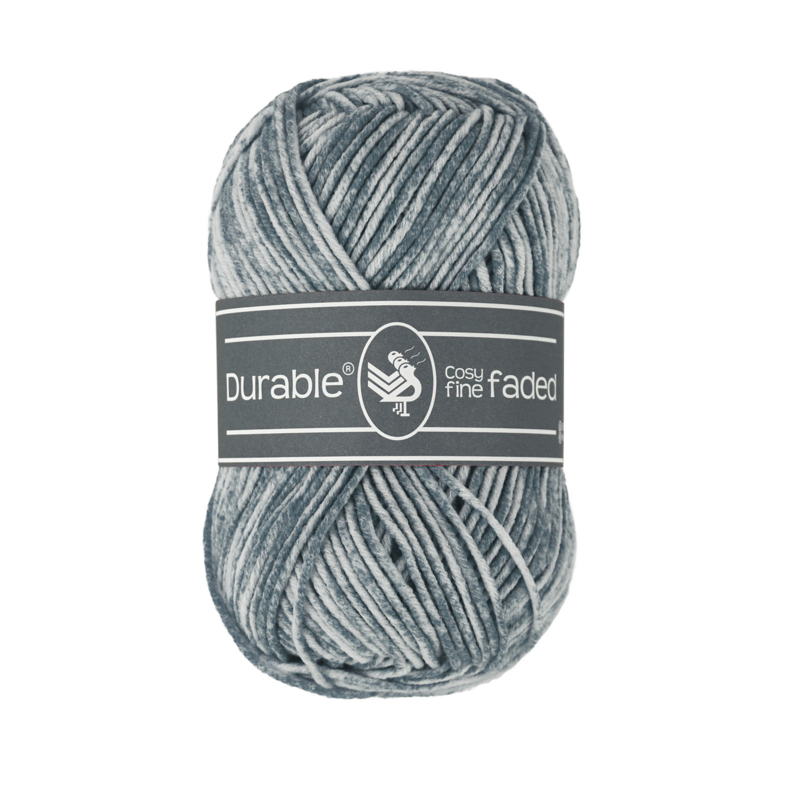 Durable Cosy Fine Faded - 2228 Silver grey