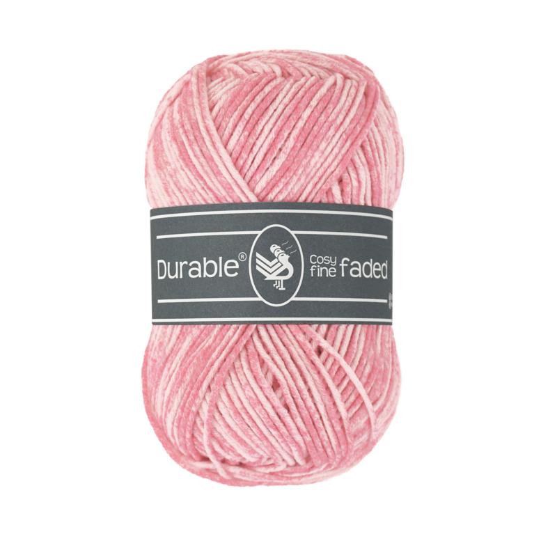 Durable Cosy Fine Faded - 229 Flamingo pink
