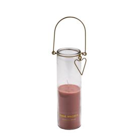 kaars in tube roze