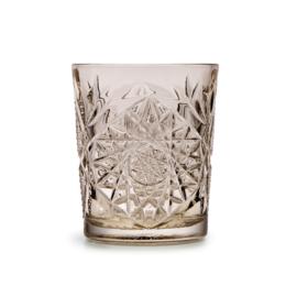 Libbey Drinkglas Hobstar Tender Taupe