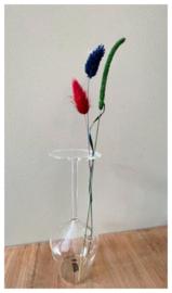 wijnglas bloemvaas