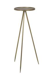 Bijzettafel goud Ø39,5 x 119,5cm