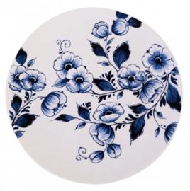 wandbord bloemen