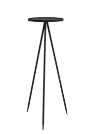 Bijzettafel zink Ø39,5 x 119,5cm