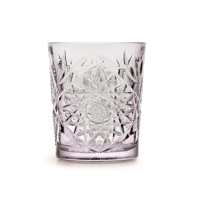 Libbey Drinkglas Hobstar Charm Lavender